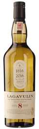 Lagavulin 8 years 200th Anniversary Bottle 70cl title=